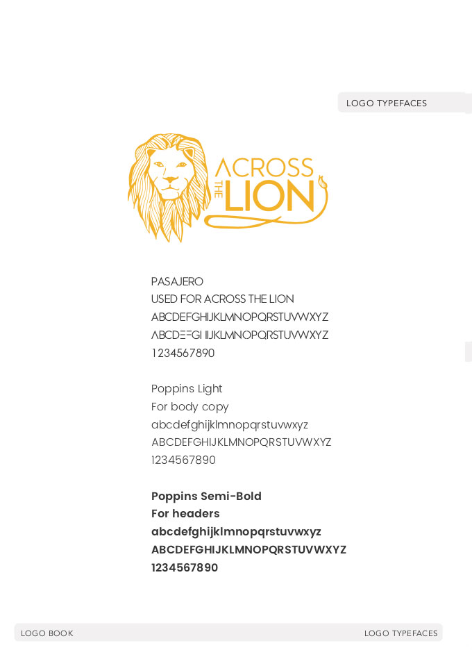 Across-the-Lion-Typefaces