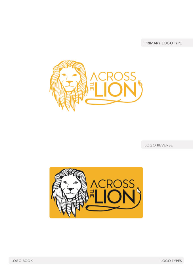 Logo for Across the Lion